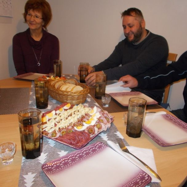 p. Hlaváčová - oslava narodenín