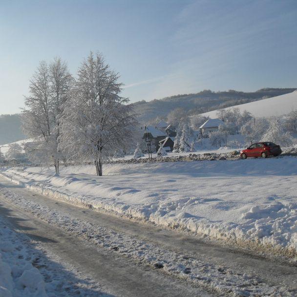 Zima v Kobeliarove